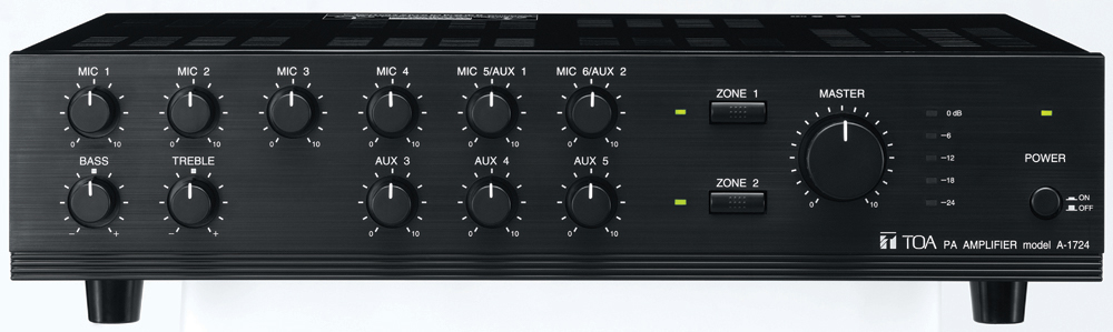 A-1724 Mixer Power Amplifier (AS version)
