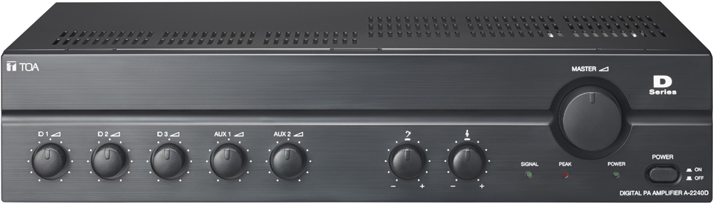 toa electronics pte ltd a 2240d digital pa amplifier. Black Bedroom Furniture Sets. Home Design Ideas