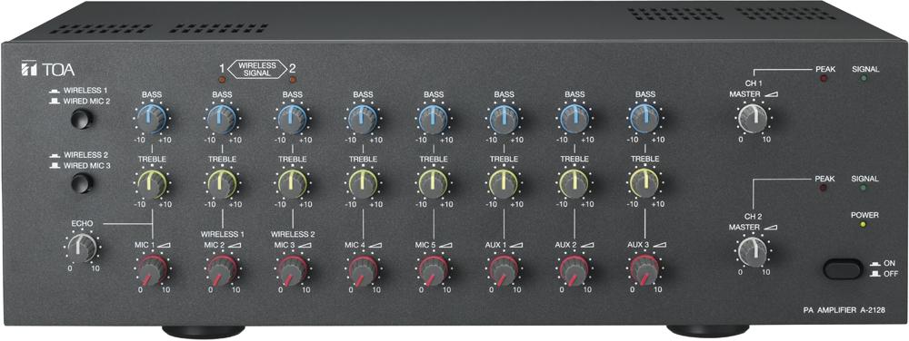 toa electronics pte ltd a 2128 pa amplifier