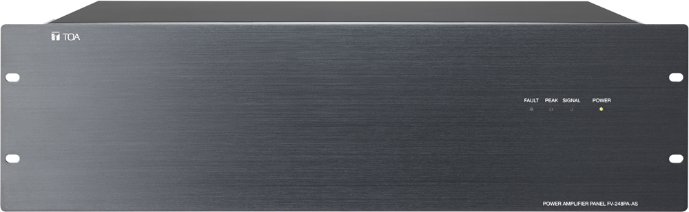 toa electronics pte ltd fv 248pa power amplifier