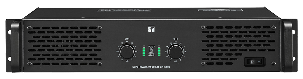 DA-1250D Dual-Channel Power Amplifier