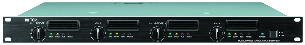 DA-250FH Multichannel Power Amplifier