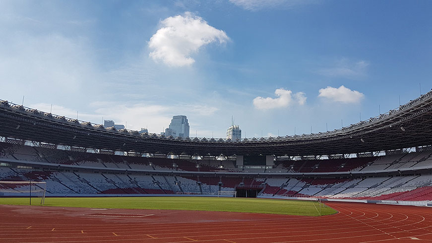 Toa Electronics Pte Ltd Newly Refurbished Indonesia Gelora Bung