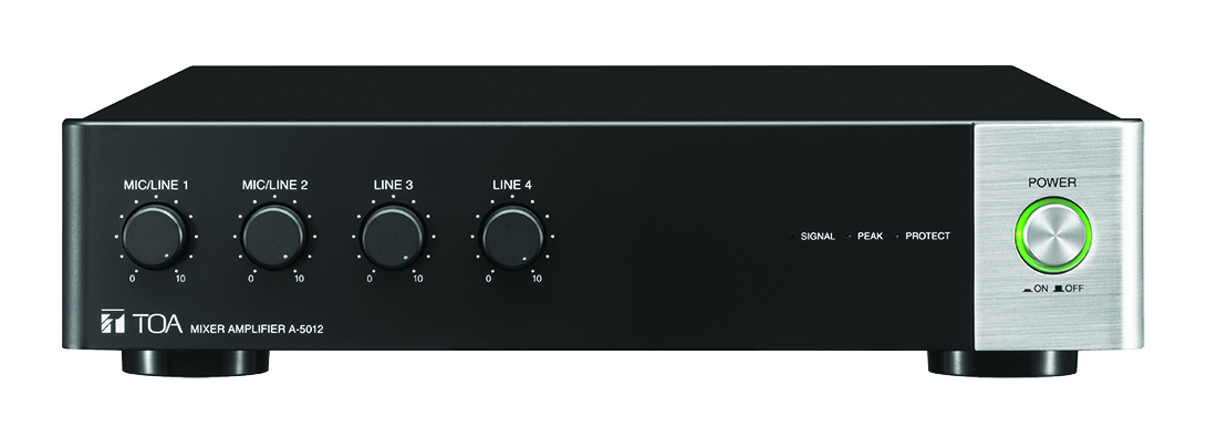 NEW! A-5000 Digital Mixer Amplifier